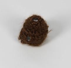 Hairy Starey (2017)- crocheted hair, fake eyes